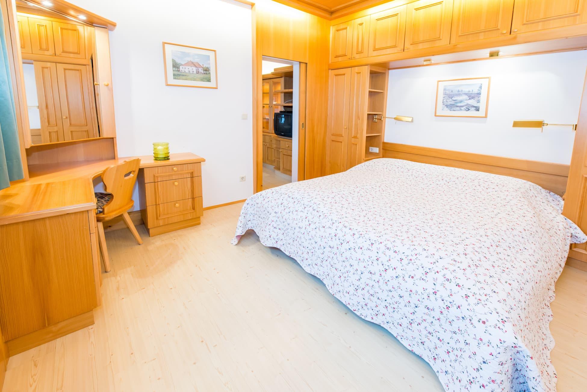 Schlafzimmer der Wohnung 2 in Ybbsitz