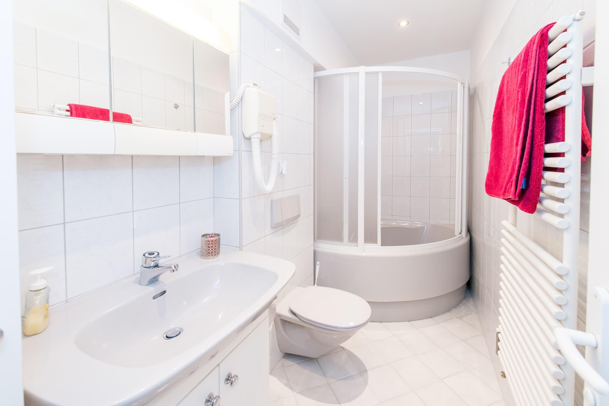 Badezimmer in Wohnung 3