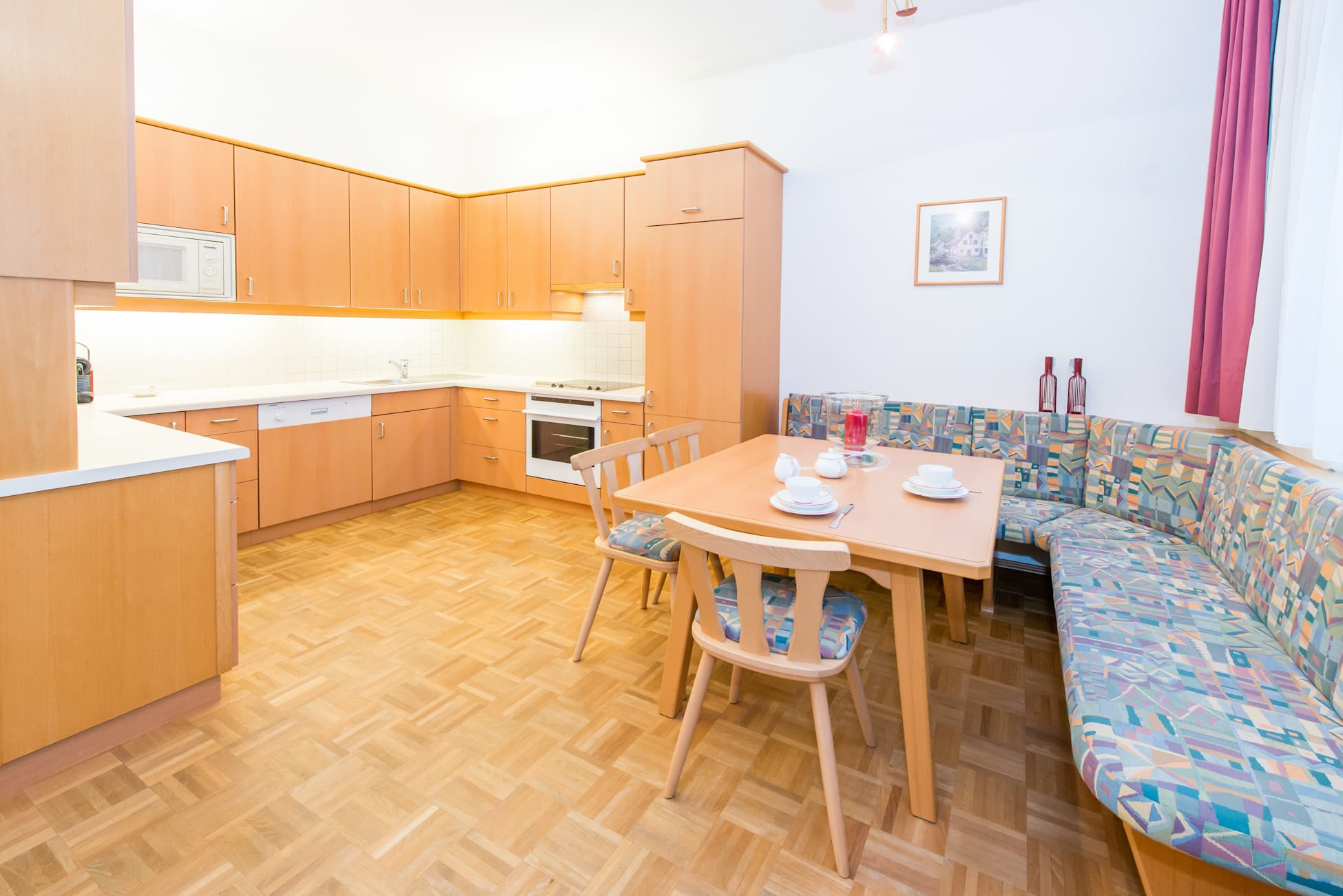 Aufnahme der Wohnküce von Wohnung 3 in Ybbsitz