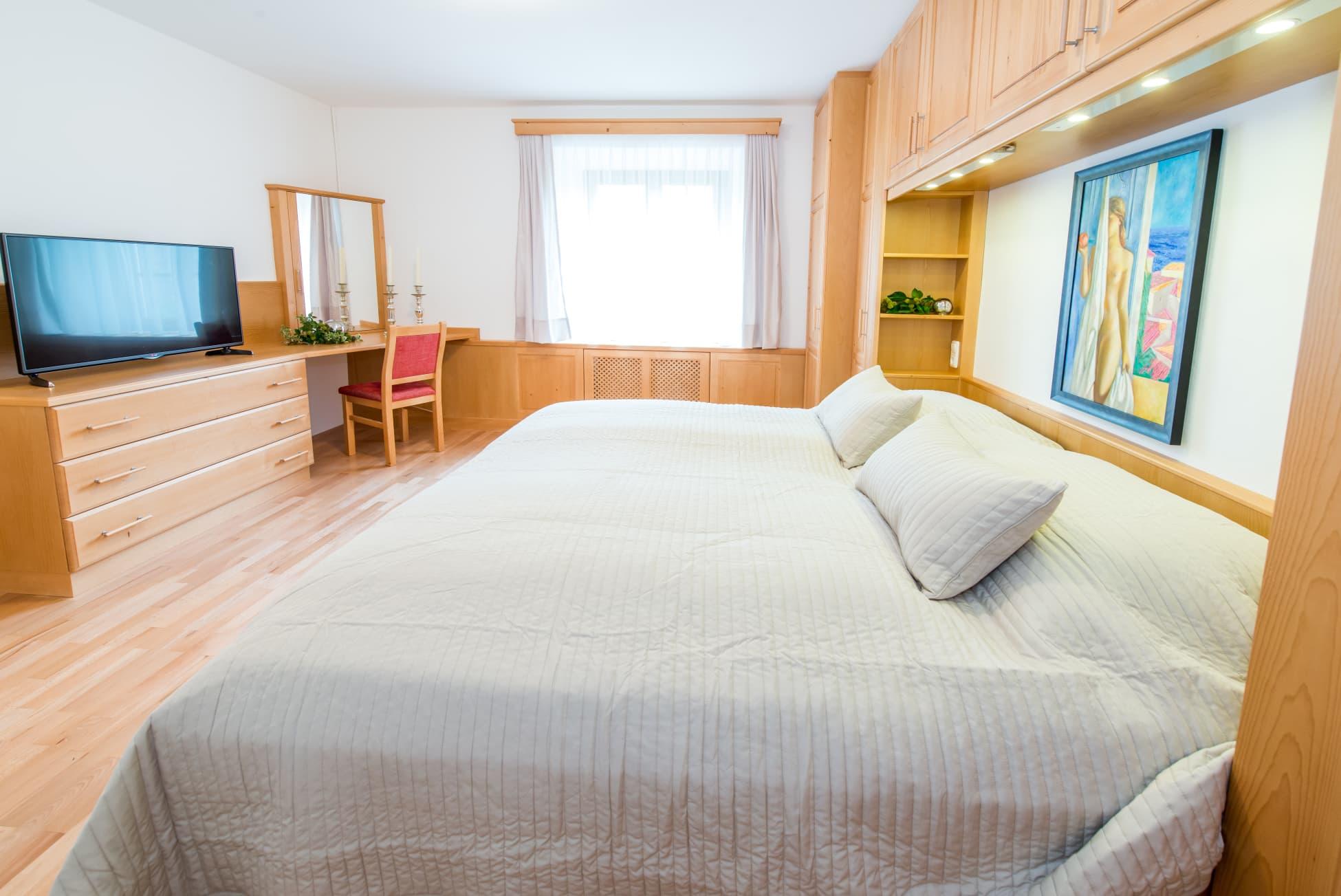 Schlafzimmer von Wohnung 4 in Ybbsitz