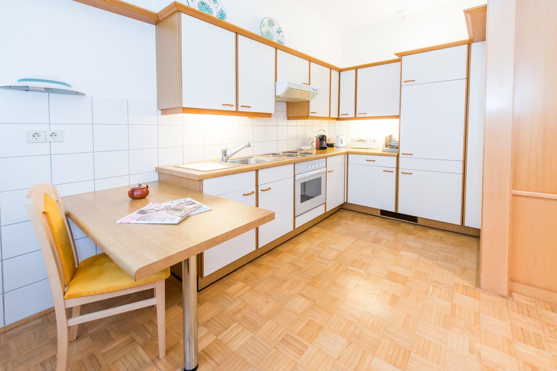 Wohnküche von Apartement 5