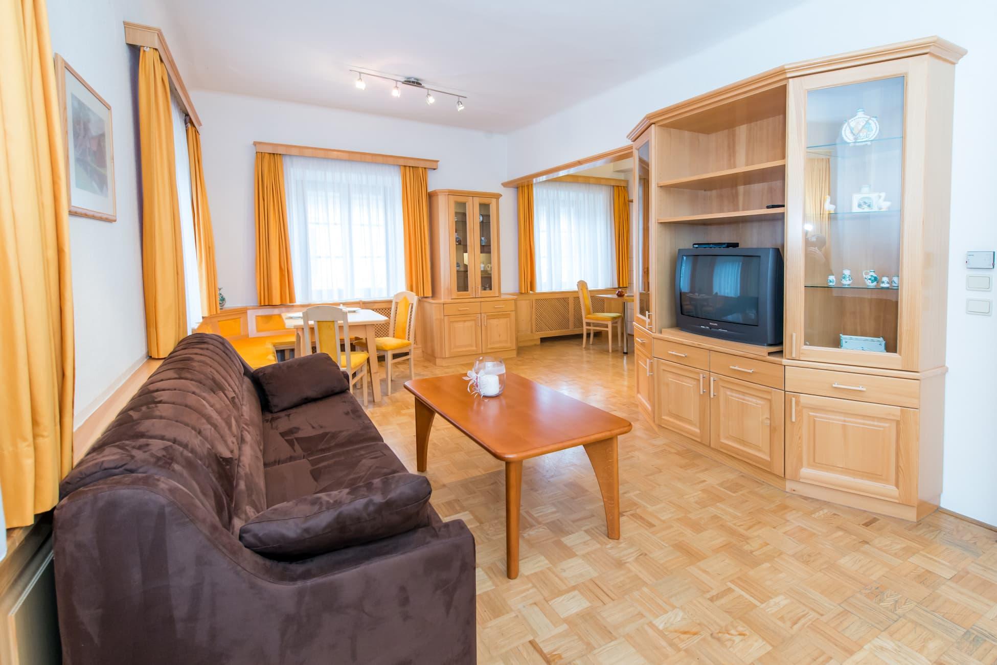 Wohnzimmer von Wohnung 5 bei ferienwohnung-ybbsitz
